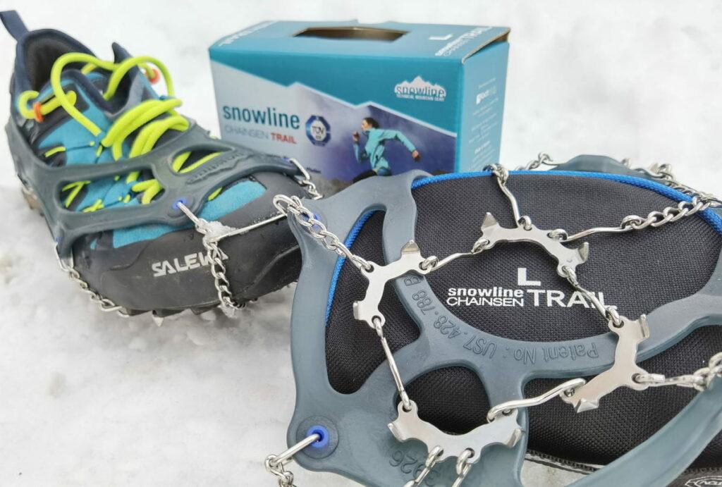snowline chainsen trail im Grödel Test